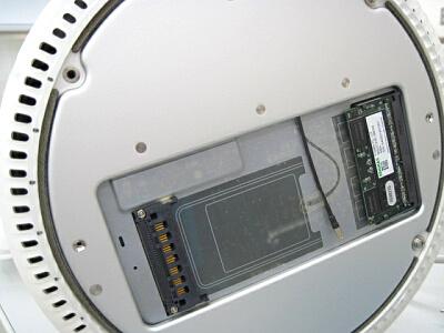 iMACの分解 底面部分