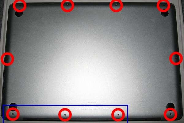 MacBookPro分解修理