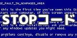 ブルースクリーンの解決方法「0x0000003F」