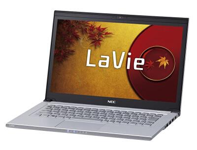 NEC PC-LZ550JS ノートパソコン分解 SSD取外し