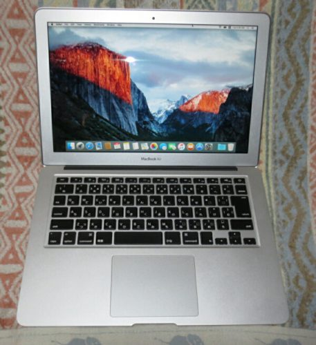 MacBookAir Mid2011 13″「A1286」分解 SSD交換