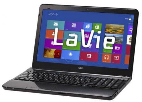 NEC Lavie LS450/JS6W ノートPC分解